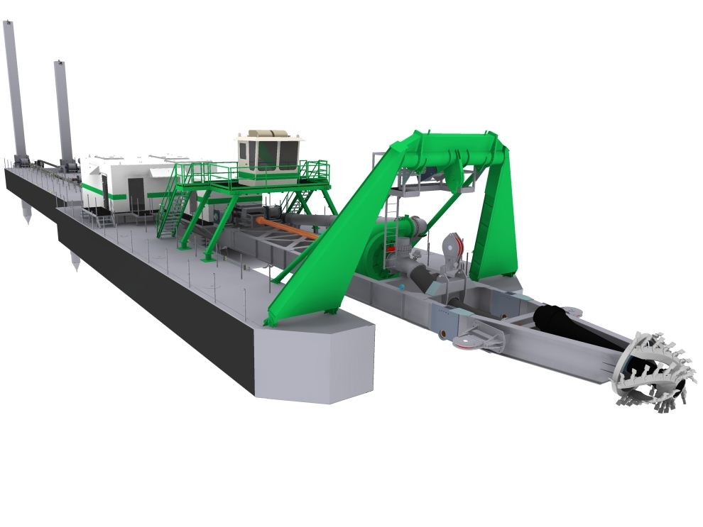 Portable Suction Dredge : Afohab products